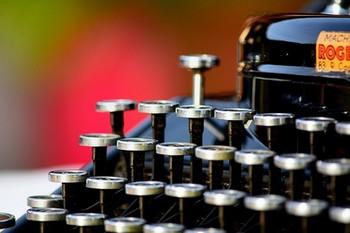 Former Vintage Remington Retro Typewriter