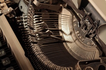 Relic Antique Manual Old Typebars Typewriter