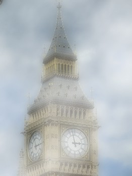Big Ben Landmark United Kingdom London Westminster
