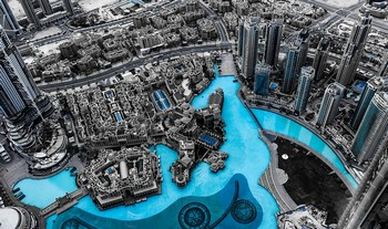 City Skyscrapers Architecture Skyline Dubai