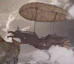 Fantasy Airship City Float Dream Floating City