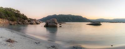 Sunset Beach Portovecchio Corsica Santagiulia