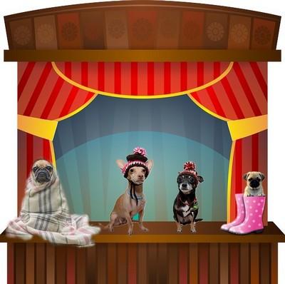 La troupe du petit théâtre
