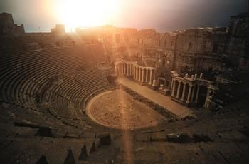 Syria Bosra Amphitheater Rondelle Roman Theatre