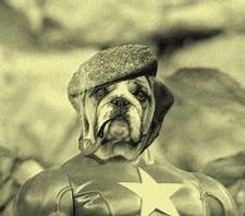 Super Hero Miniature Plastic Toy Captain America