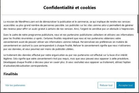 4. Capture cookies finalités